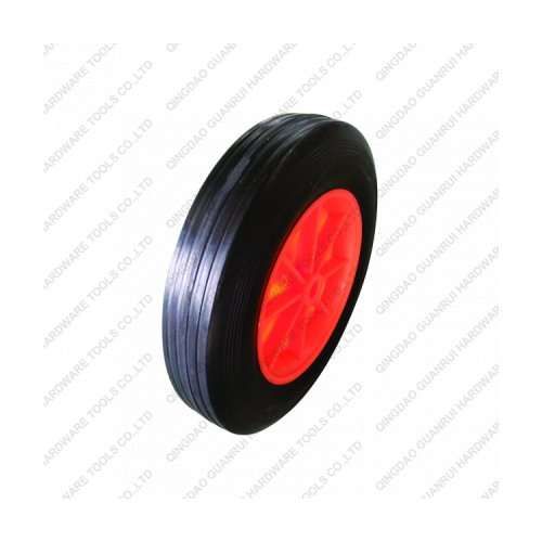 6inch rubber solid wheel